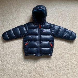 Patagonia high hi loft down sweater hoody jacket